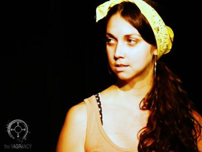 Erin Alexis in THE BOMB PLOT. Photo credit: Andie Bottrell.